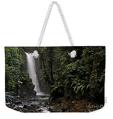 Encantada Waterfall Costa Rica Weekender Tote Bag by Teresa Zieba