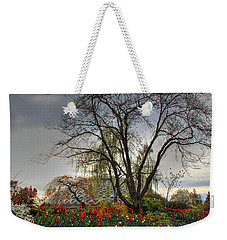 Weekender Tote Bag featuring the photograph Enchanted Garden by Eti Reid