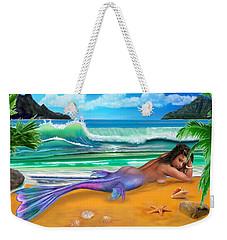 Enchanted Mermaid Weekender Tote Bag by Glenn Holbrook