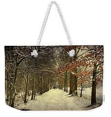 Enchanting Dutch Winter Landscape Weekender Tote Bag