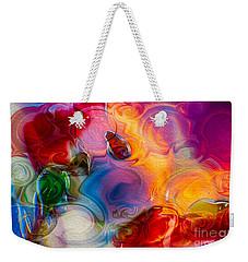 Enchanting Flames Weekender Tote Bag