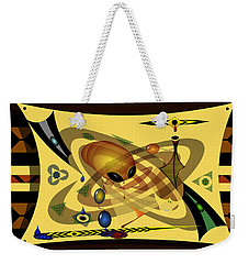 Weekender Tote Bag featuring the digital art Encounter by Vincent Autenrieb