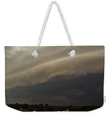 Encroaching Shelf Cloud Weekender Tote Bag by Ed Sweeney