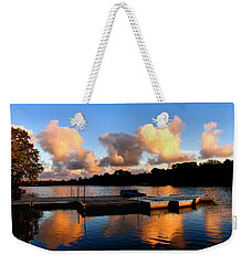 End Of A Summer Day Weekender Tote Bag