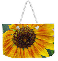 End Of Summer Sunflower Weekender Tote Bag
