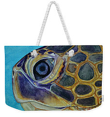 Eye Of The Honu Weekender Tote Bag