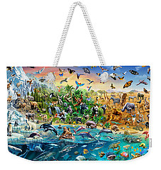 Endangered Species Weekender Tote Bag by Adrian Chesterman