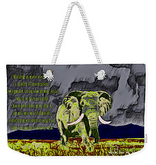 Endeavor  Weekender Tote Bag