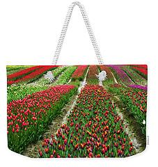 Endless Waves Of Tulips Weekender Tote Bag