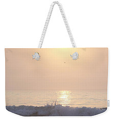 Hampton Beach Wave Ends With A Splash Weekender Tote Bag