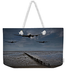 Enemy Coast Ahead Skipper Weekender Tote Bag by Gary Eason
