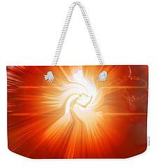 Energy Warp Weekender Tote Bag