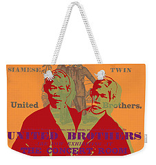 Eng And Chang Weekender Tote Bag