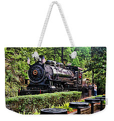Weekender Tote Bag featuring the photograph Engine 102 by Victor Montgomery