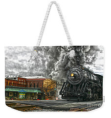 Engine 734 On The Western Maryland Scenic Railroad  Weekender Tote Bag by Jeannette Hunt