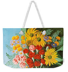 English Bouquet Weekender Tote Bag