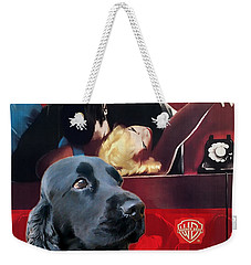 English Cocker Spaniel Art - Dial M For Murder Weekender Tote Bag