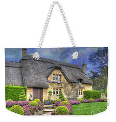 English Country Cottage Weekender Tote Bag