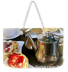 English Cream Tea Weekender Tote Bag