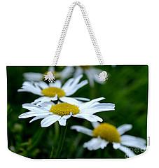 English Daisies Weekender Tote Bag