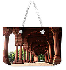 Engrailed Arches Red Fort - New Delhi Weekender Tote Bag