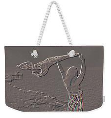 Enjoying The Ocean Breeze Weekender Tote Bag by Leticia Latocki