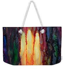 Enlightened Trinity  Weekender Tote Bag
