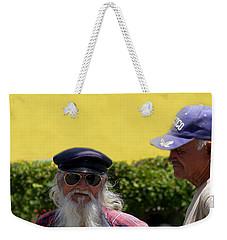 Ensenada Harbour And Fish Market 32 Weekender Tote Bag