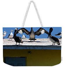 Ensenada Harbour And Fish Market 34 Weekender Tote Bag