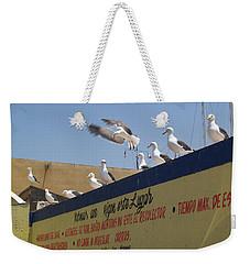 Ensenada Harbour And Fishmarket 40 Weekender Tote Bag