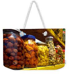 Ensenada Olive Stand 09 Weekender Tote Bag