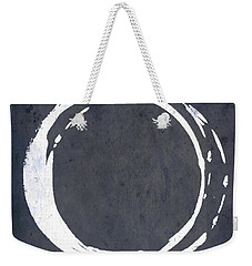 Enso No. 107 Blue Weekender Tote Bag