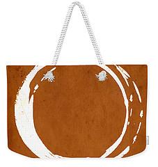 Enso No. 107 Orange Weekender Tote Bag