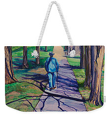 Weekender Tote Bag featuring the painting Entanglement On Highway 98' by Ecinja Art Works