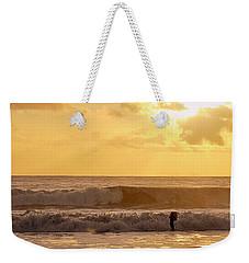 Enter The Surfer Weekender Tote Bag
