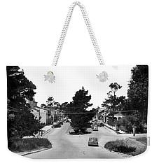 Entering Carmel By The Sea Calif. Circa 1945 Weekender Tote Bag