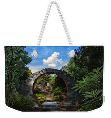 Entering The Garden Gate Weekender Tote Bag