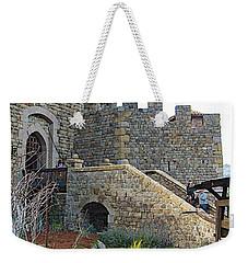 Entrance To Castello Di Amorosa In Napa Valley-ca Weekender Tote Bag