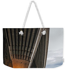 Entrance To Opera House In Sydney Weekender Tote Bag by Jola Martysz