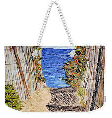 Entrance To Summer Weekender Tote Bag