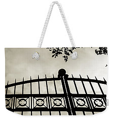 Entrances To Exits - Gates Weekender Tote Bag by Steven Milner