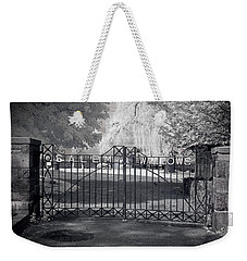 Entry To Salem Willows Weekender Tote Bag