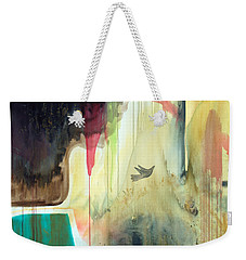 Weekender Tote Bag featuring the painting Envisage by Robin Maria Pedrero