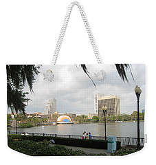 Eola Park In Orlando Weekender Tote Bag