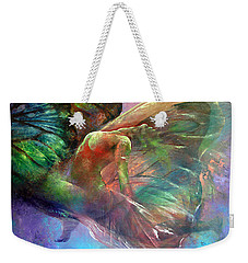 Ephemeral Life Weekender Tote Bag