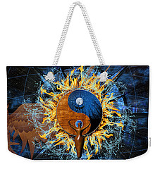 Equilibria Weekender Tote Bag by Kenneth Armand Johnson