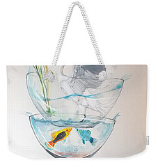 Equilibrium Weekender Tote Bag by Lazaro Hurtado