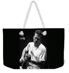 Eric Clapton 003 Weekender Tote Bag by Timothy Bischoff