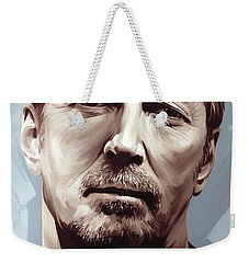 Eric Clapton Artwork Weekender Tote Bag by Sheraz A
