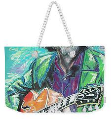 Eric Clapton Weekender Tote Bag by Melanie D